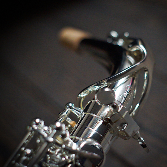 Silver Plated Tenor Saxofoon